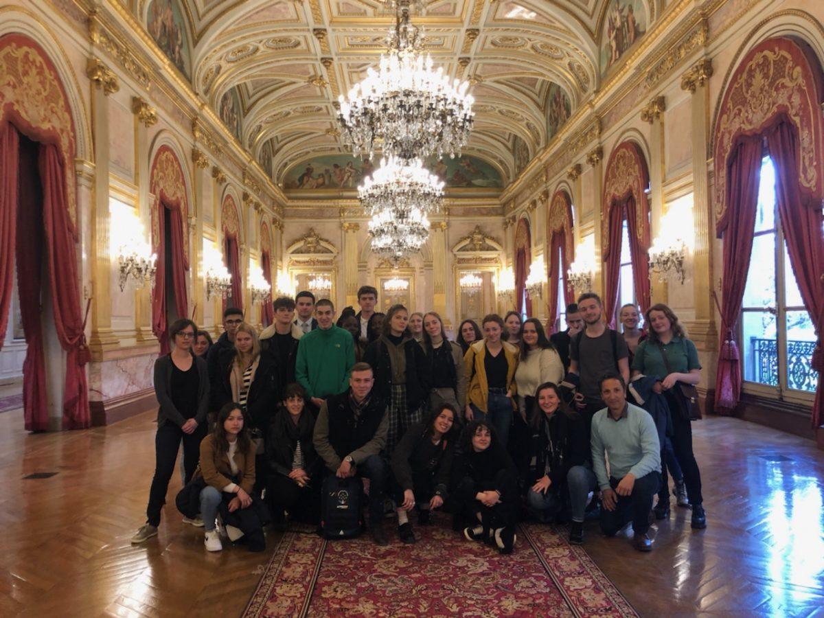 Projet interdisciplinaire à Paris